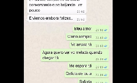 Grupo whatsapp corno manso recebe vídeo da esposa traindo