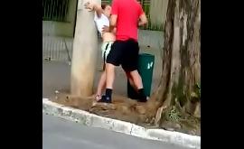 Fraga de sexo na rua conhecida de São Paulo
