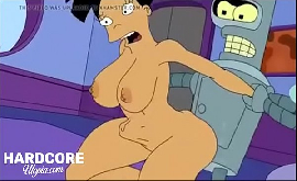 Futurama hentai robô fodendo cu da pretinha com força