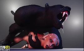 Dog hentai sexo brutal sem camisinha com animal