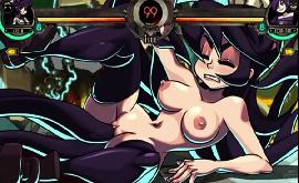 Skullgirls hentai compilação de sexo gostoso